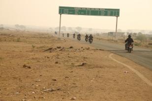 India en moto. Alquiler moto India